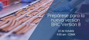 Webinar BRC Versión 8